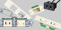 家具・住設機器用配線器具